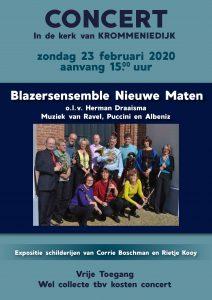 Concert in de kerk van Krommeniedijk.