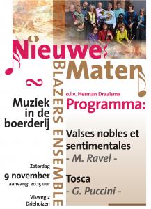 Poster Muziek in de Boerderij